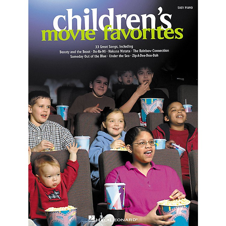 Hal Leonard Children's Movie Favorites For Easy Piano