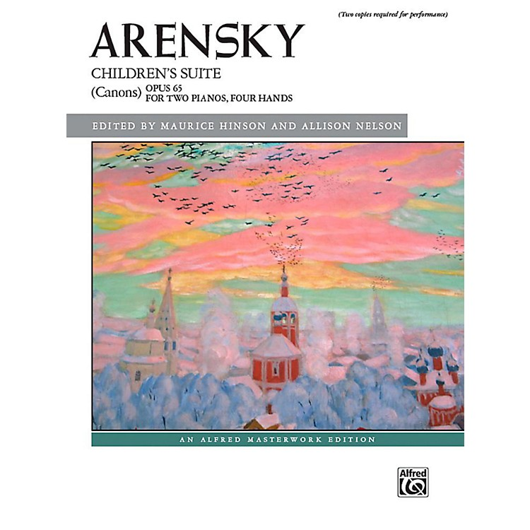 AlfredChildren's Suite (Canons), Op. 65 - Book Early Advanced