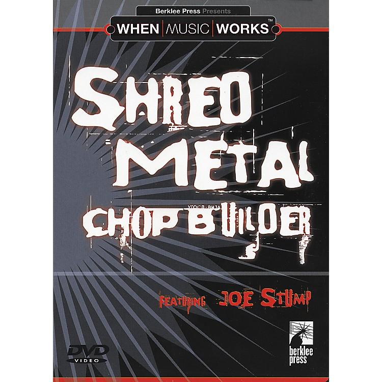 Berklee PressChop Builder for Rock Guitar (DVD)