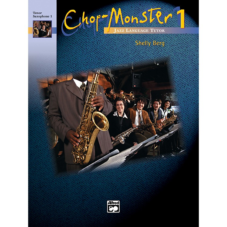 AlfredChop-Monster Book 1 Drums/Vibes Book & CD