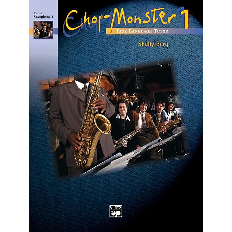 AlfredChop-Monster Book 1 Piano Book & CD
