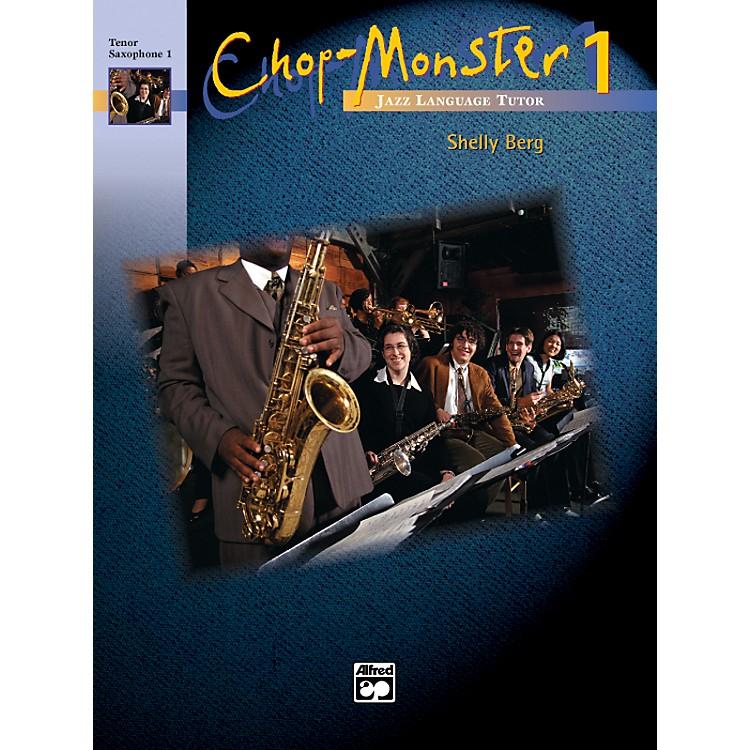 AlfredChop-Monster Book 1 Trombone 4 Book & CD