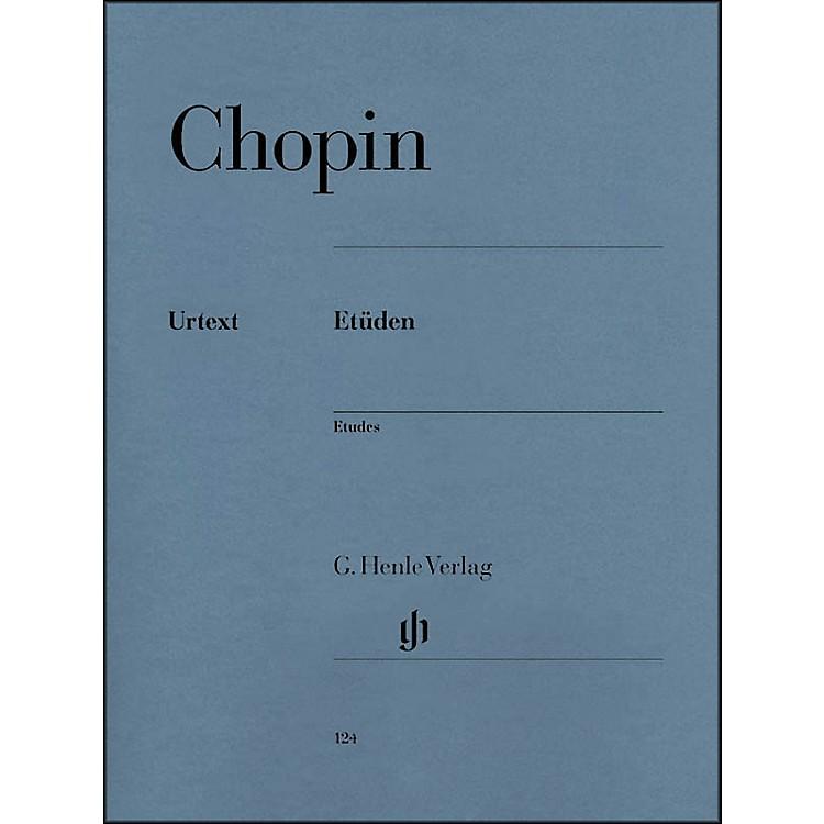 G. Henle VerlagChopin Etudes Urtext Opus 10 And Opus 25 By Chopin / Zimmermann