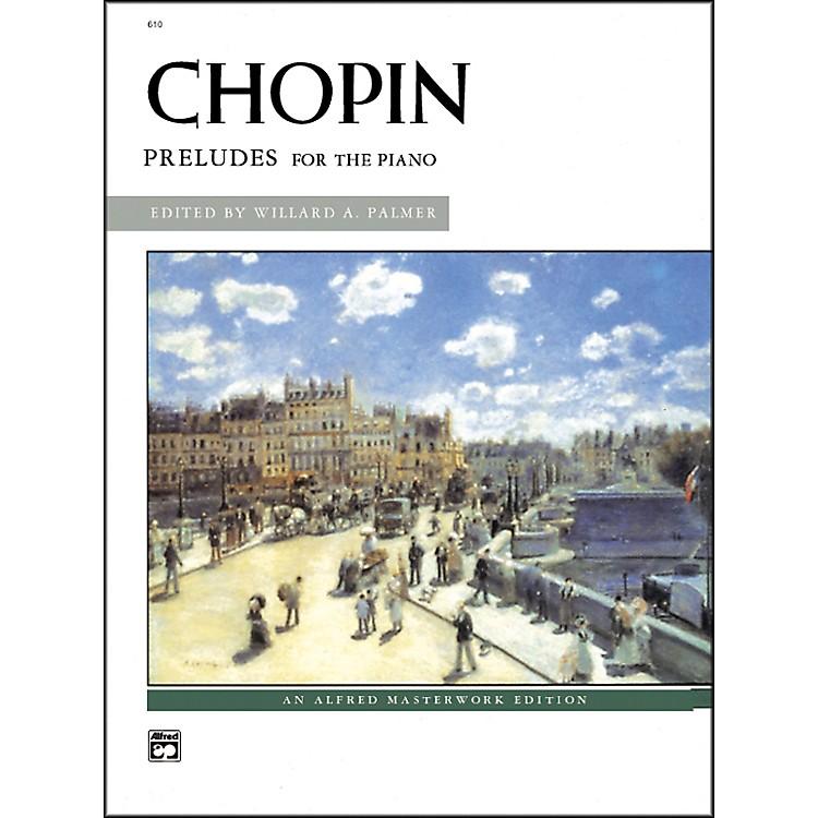 AlfredChopin Preludes Intermediate/Early Advanced Piano
