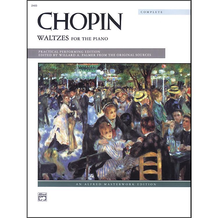 AlfredChopin Waltzes (Complete) Intermediate/Early Advanced Piano