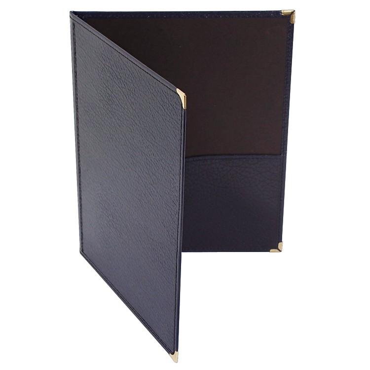Deer RiverChoral Leatherette Folio With Bottom PocketsBlue9x12