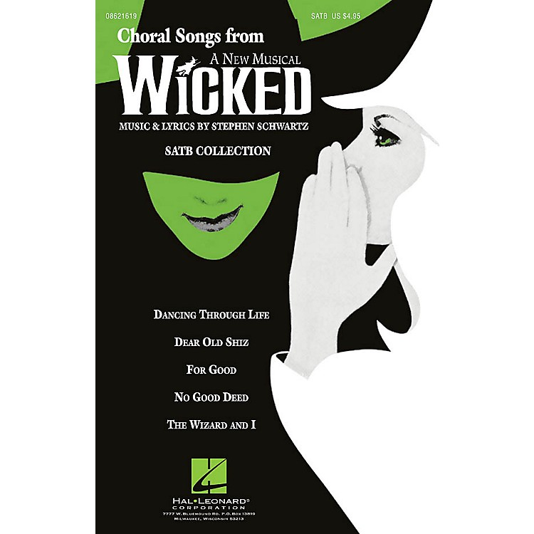 Hal LeonardChoral Songs from Wicked (SATB Collection) ShowTrax CD Arranged by Ed Lojeski