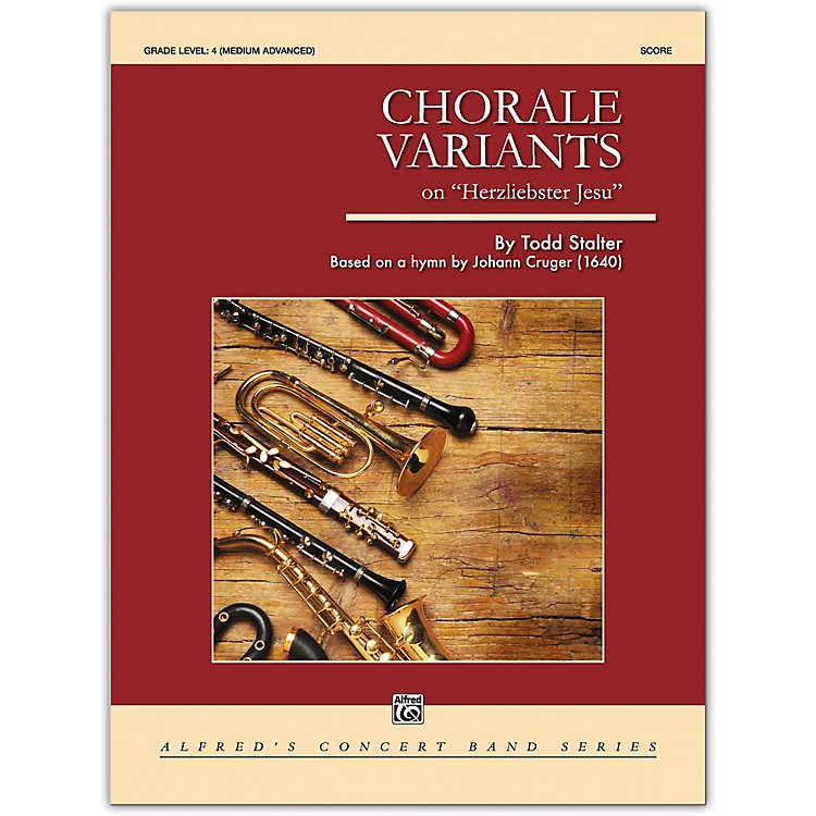AlfredChorale Variants Conductor Score 4 (Medium Difficult)