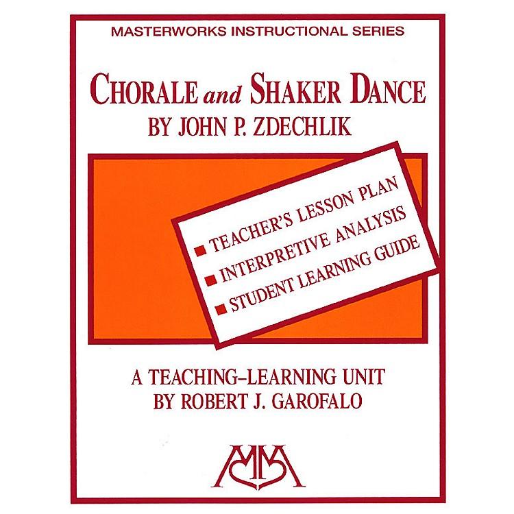 Meredith MusicChorale and Shaker Dance Meredith Music Resource Series by Robert Garofalo