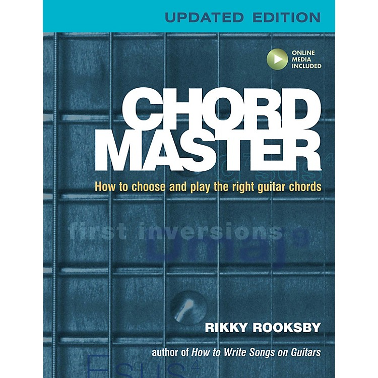 Backbeat BooksChord Master Book Series Softcover Audio Online Written by Rikky Rooksby