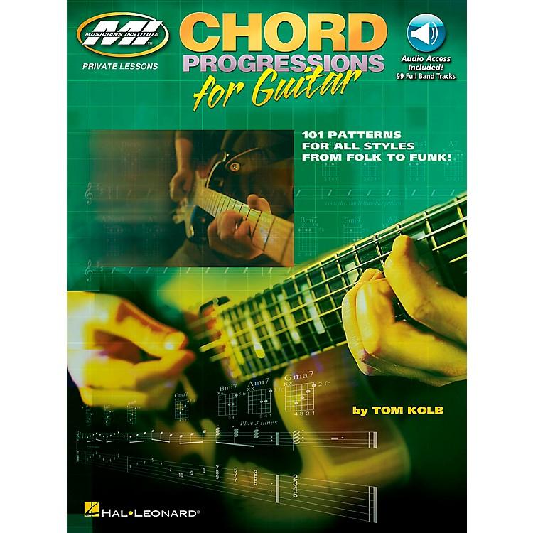 Musicians InstituteChord Progressions for Guitar (Book/CD)
