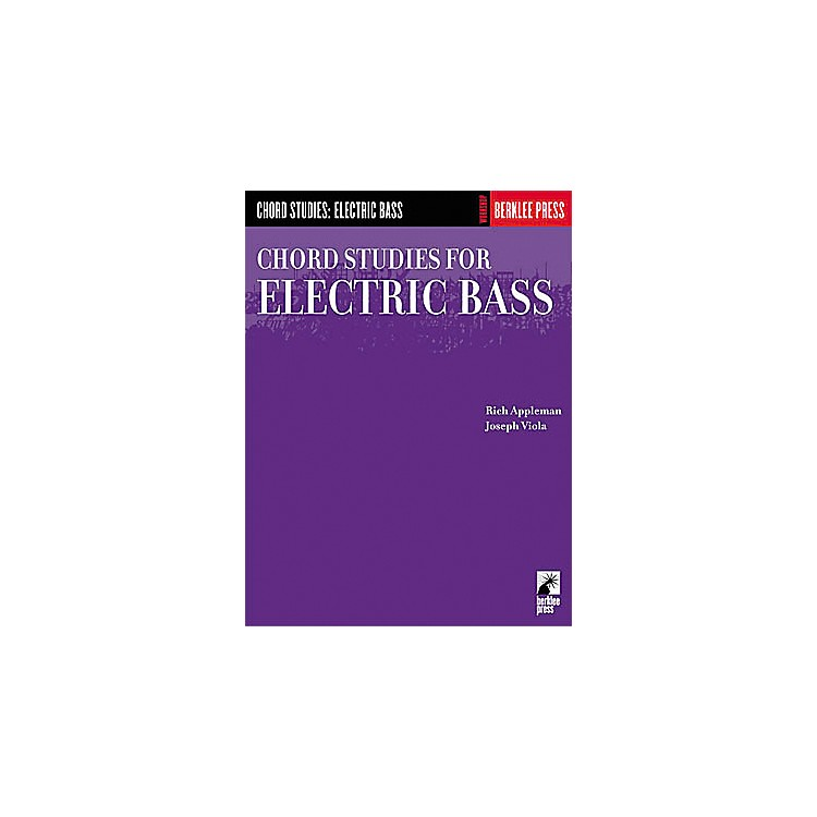 Hal LeonardChord Studies for Electric Bass Book