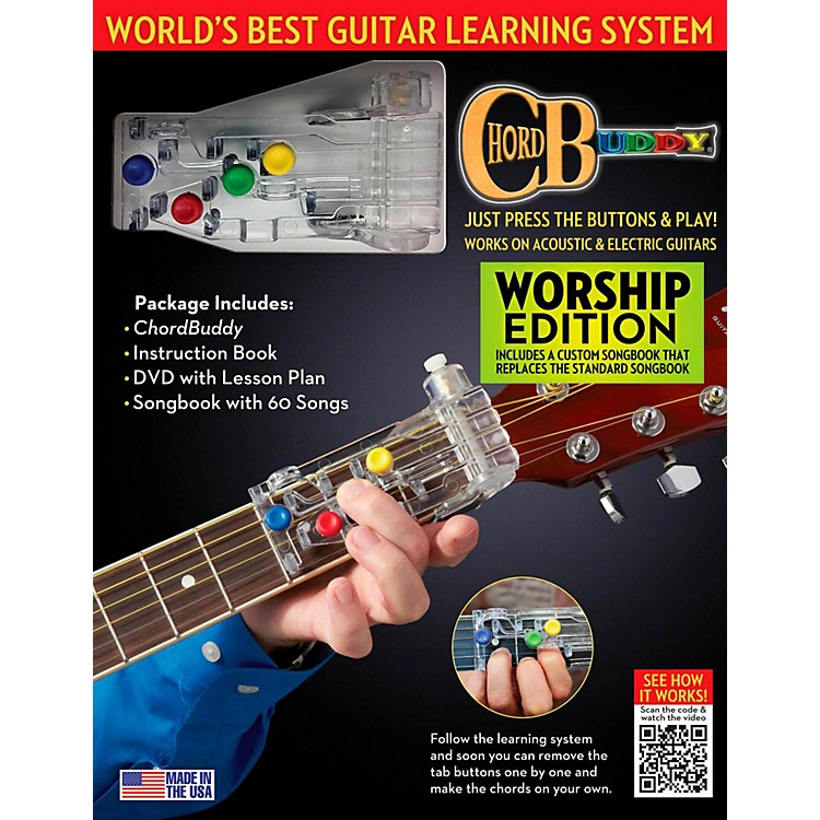 Perry's MusicChordBuddy Guitar Learning System  Worship Edition