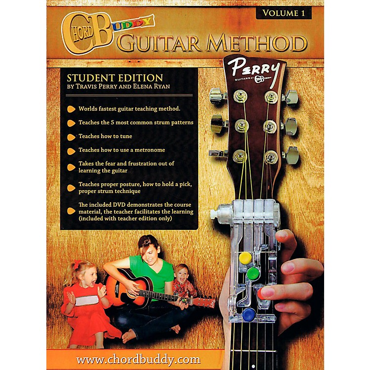 Perry's MusicChordBuddy Guitar Method Volume 1 Student Book