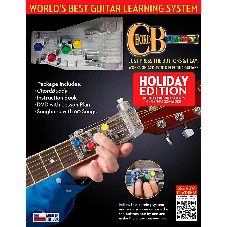 Hal Leonard ChordBuddy Holiday Guitar Learning System