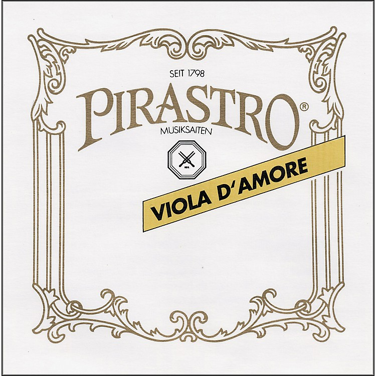 Pirastro Chorda Gamba Strings Bass Gamba D-1, Gut