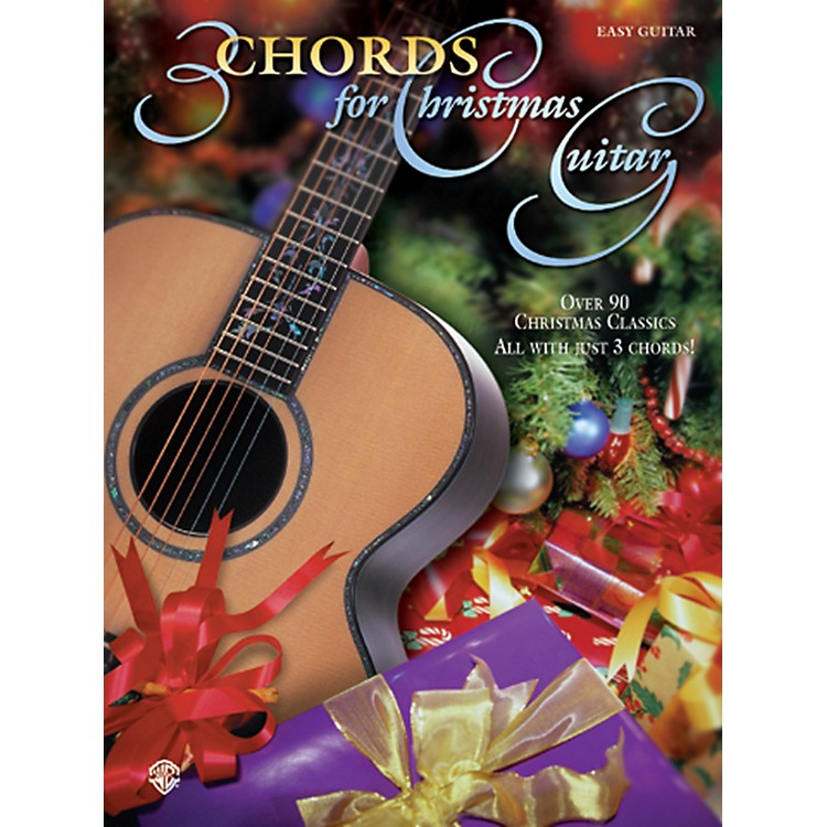 AlfredChords for Christmas Guitar Easy Guitar Book