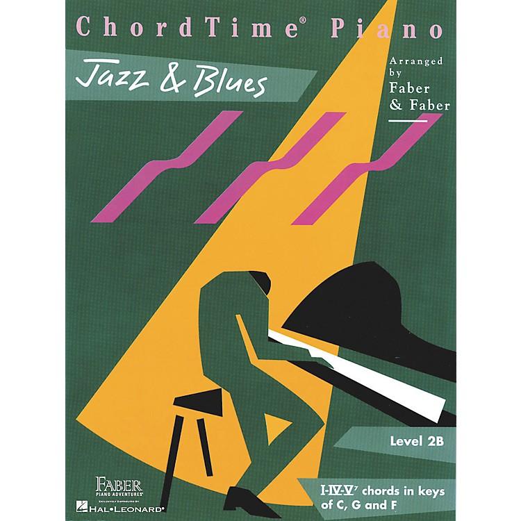 Faber Piano AdventuresChordtime Jazz & Blues L2B