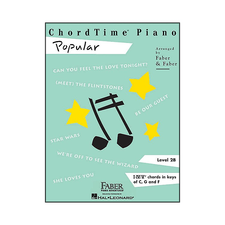 Faber Piano AdventuresChordtime Popular Level 2 B