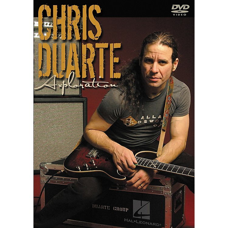 Hal Leonard Chris Duarte - Axploration Guitar DVD
