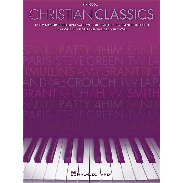 Hal LeonardChristian Classics Piano Solo