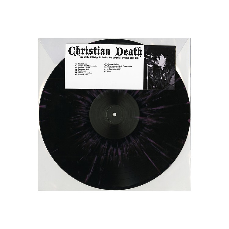 Alliance Christian Death - Live At The Whisky A Go Go, Los Angeles, October 31St, 1981