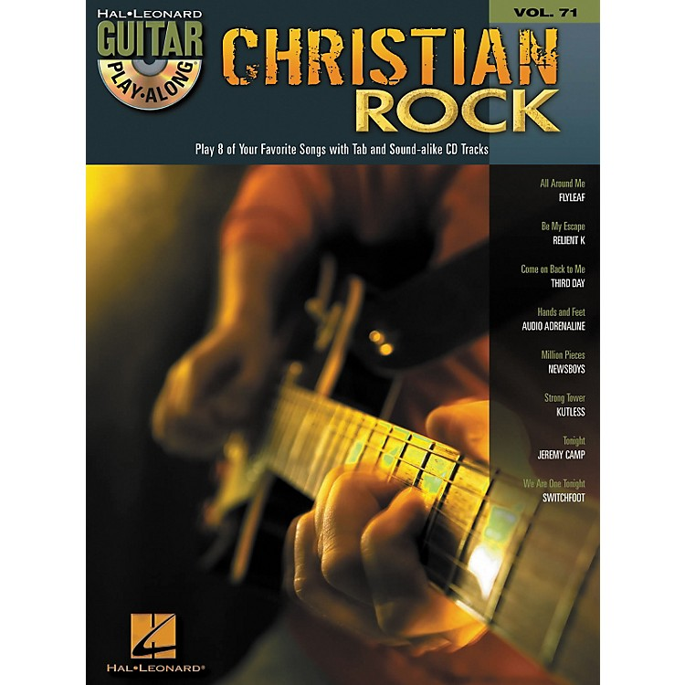 Hal LeonardChristian Rock Guitar Play-Along Volume 71 Book/CD