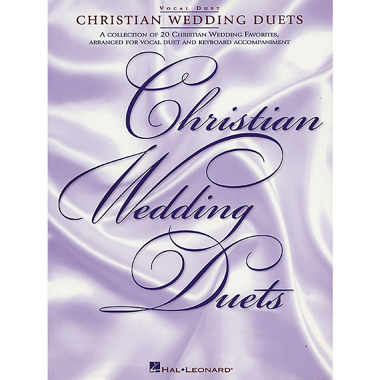 Hal Leonard Christian Wedding Duets