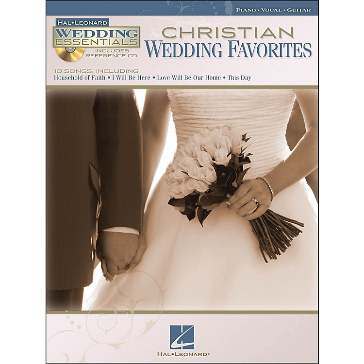 Hal Leonard Christian Wedding Favorites - Wedding Essentials Series Book/CD arranged for piano, vocal, and guitar (P/V/G)