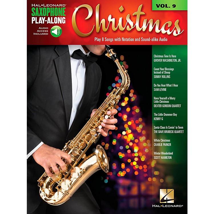 Hal LeonardChristmas - Saxophone Play-Along Vol. 9 (Book/Audio On-line)