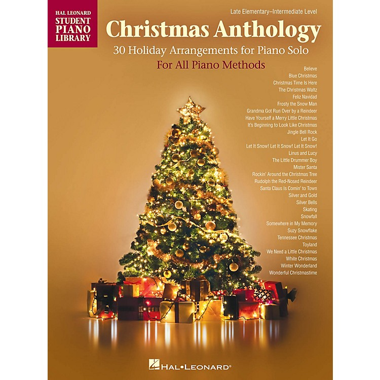 Hal LeonardChristmas Anthology Piano Library Series Book by Various (Level Late Elem to Early Inter)
