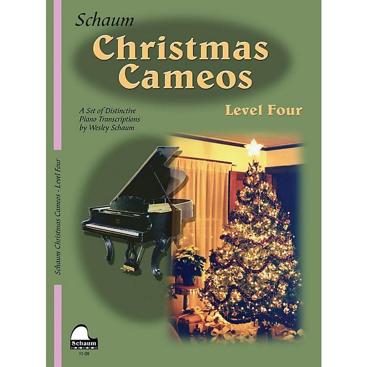 SCHAUMChristmas Cameos (Level 4 Inter Level) Educational Piano Book