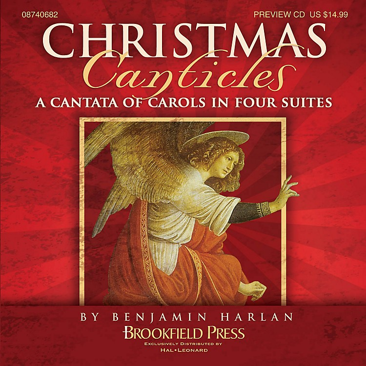 BrookfieldChristmas Canticles (A Cantata of Carols in Four Suites) PREV CD arranged by Benjamin Harlan