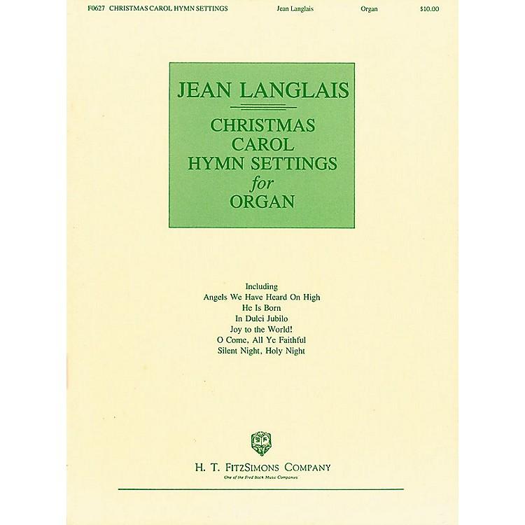 H.T. FitzSimons CompanyChristmas Carol Hymn Settings for Organ (Organ)