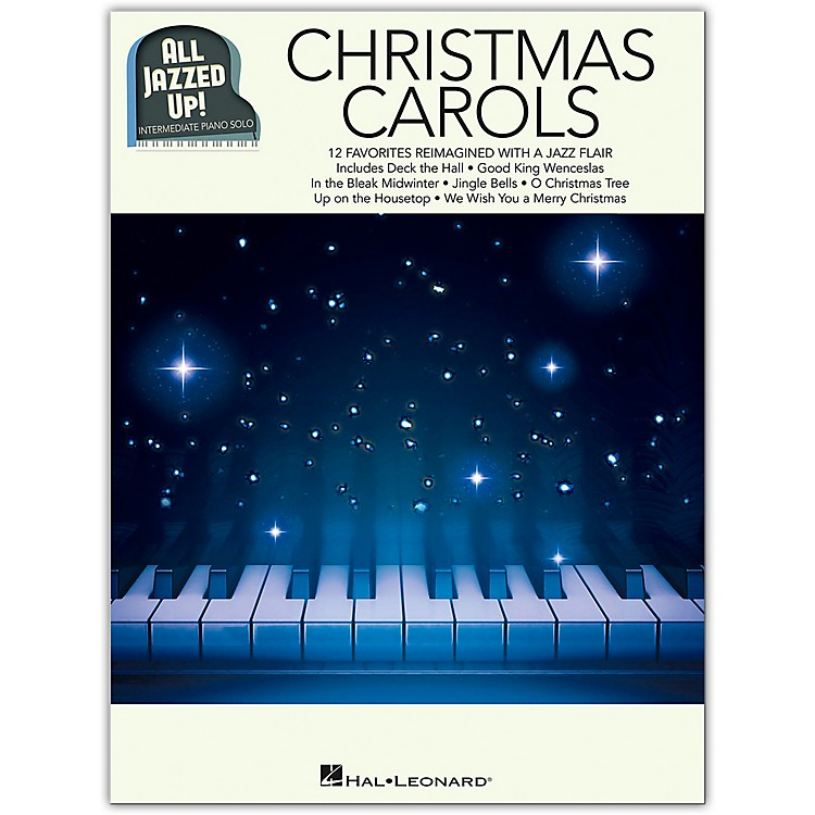 Hal LeonardChristmas Carols - All Jazzed Up! Piano Solo Songbook