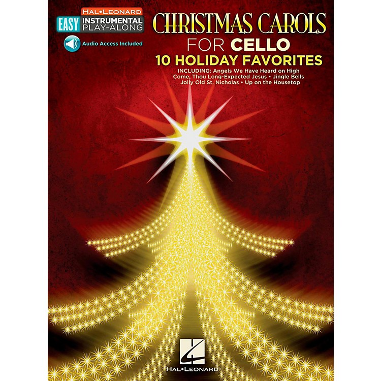 Hal Leonard Christmas Carols - Cello - Easy Instrumental Play-Along (Audio Online)
