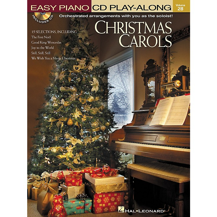 Hal LeonardChristmas Carols - Easy Piano CD Play-Along Volume 28 Book/CD
