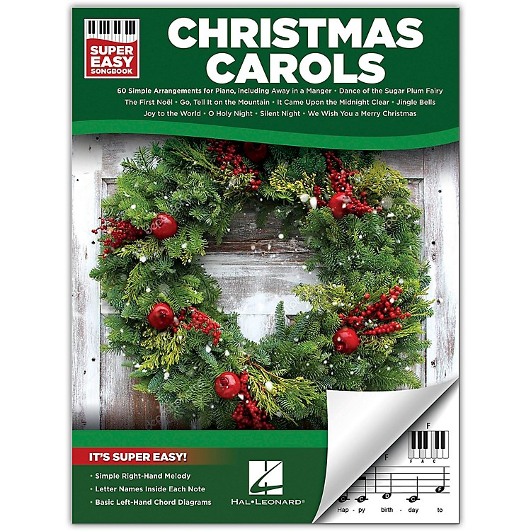 Hal Leonard Christmas Carols - Super Easy Songbook