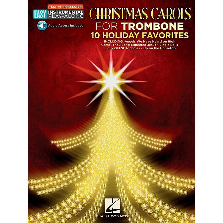 Hal LeonardChristmas Carols - Trombone - Easy Instrumental Play-Along (Audio Online)