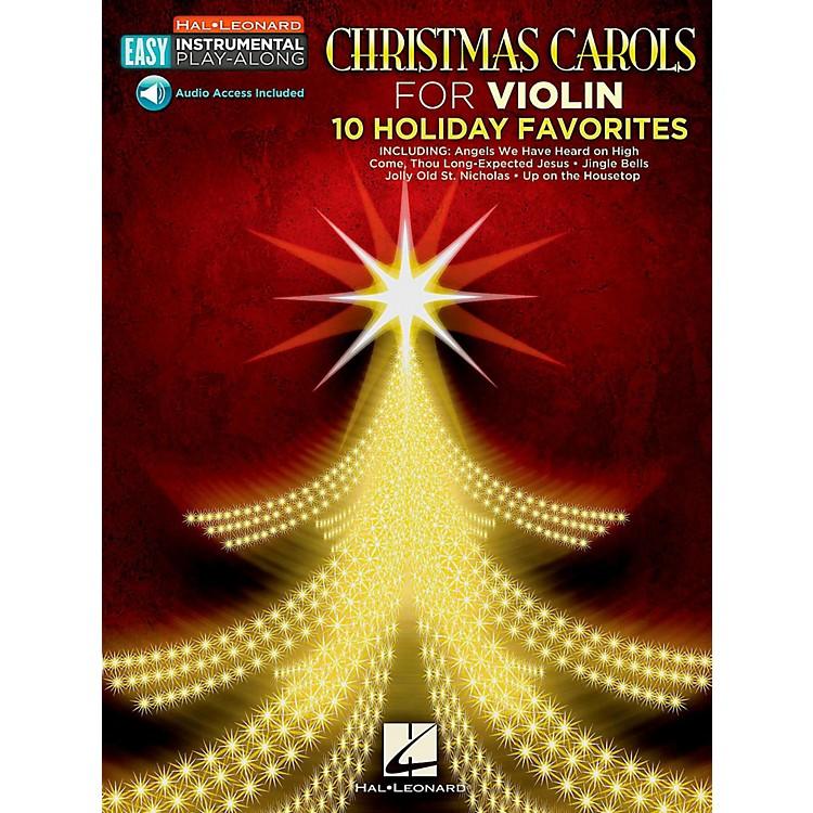 Hal LeonardChristmas Carols - Violin - Easy Instrumental Play-Along (Audio Online)