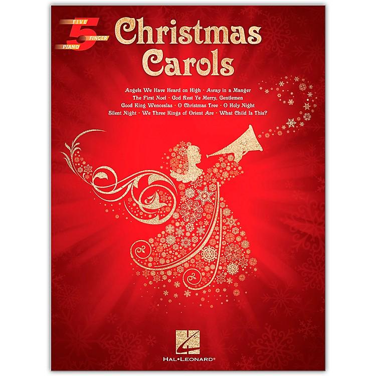 Hal LeonardChristmas Carols Five-Finger Piano Songbook