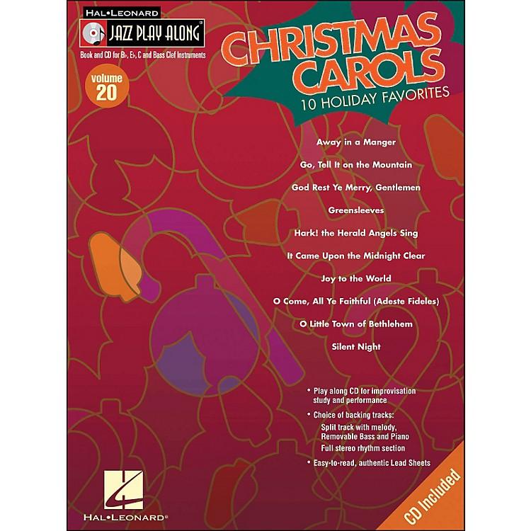 Hal LeonardChristmas Carols Jaxx Play-Along Volume 20 Book/CD