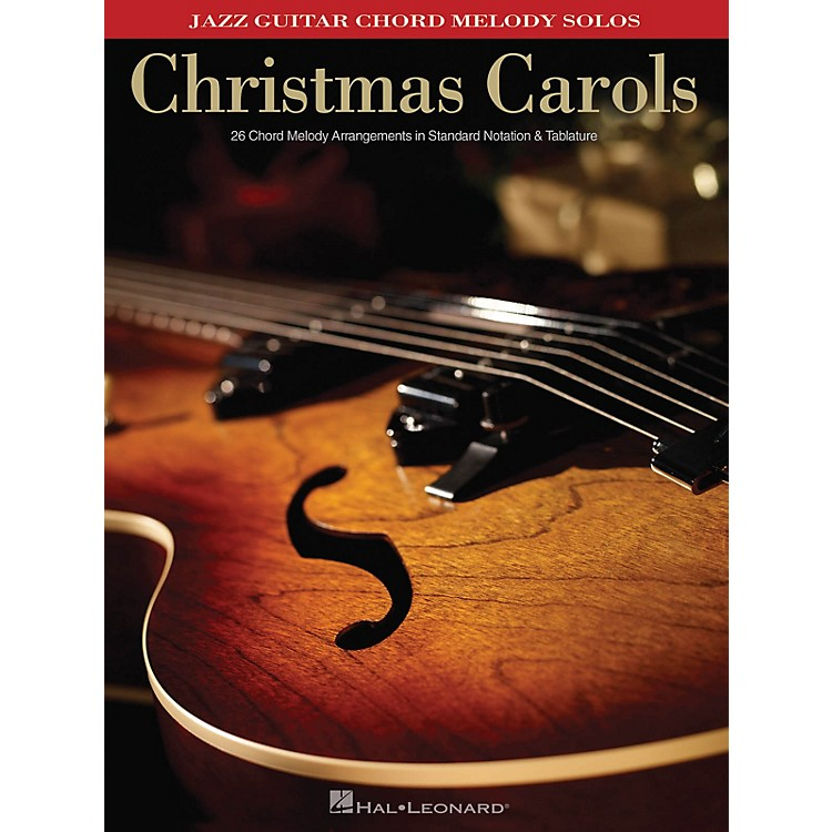 Hal LeonardChristmas Carols (Jazz Guitar Chord Melody Solos) Guitar Solo Series Softcover