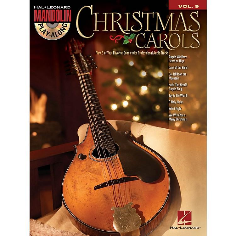 Hal LeonardChristmas Carols (Mandolin Play-Along Volume 9) Mandolin Play-Along Series Softcover with CD