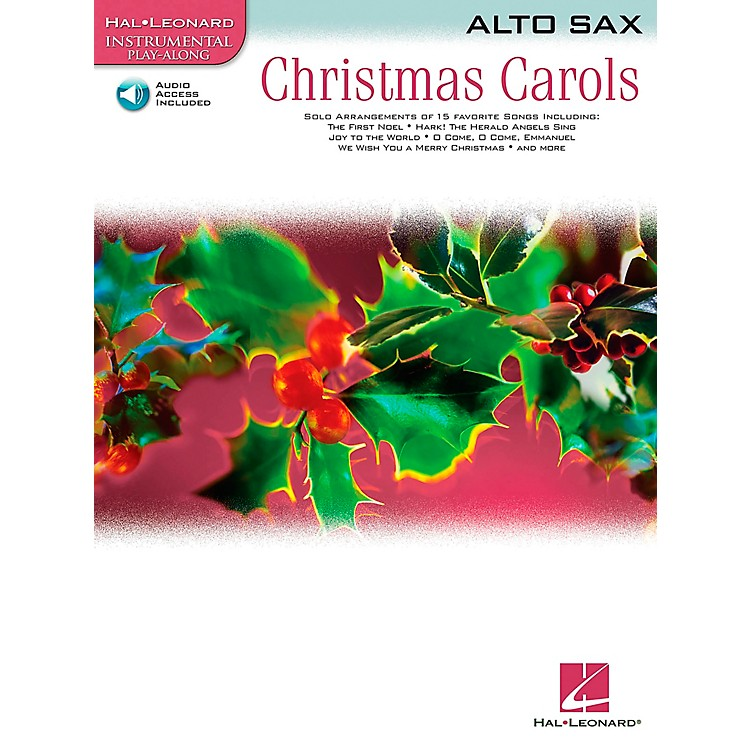 Hal Leonard Christmas Carols for Alto Sax Book/CD