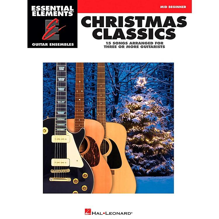 Hal LeonardChristmas Classics - Essential Elements Guitar Ensembles Series