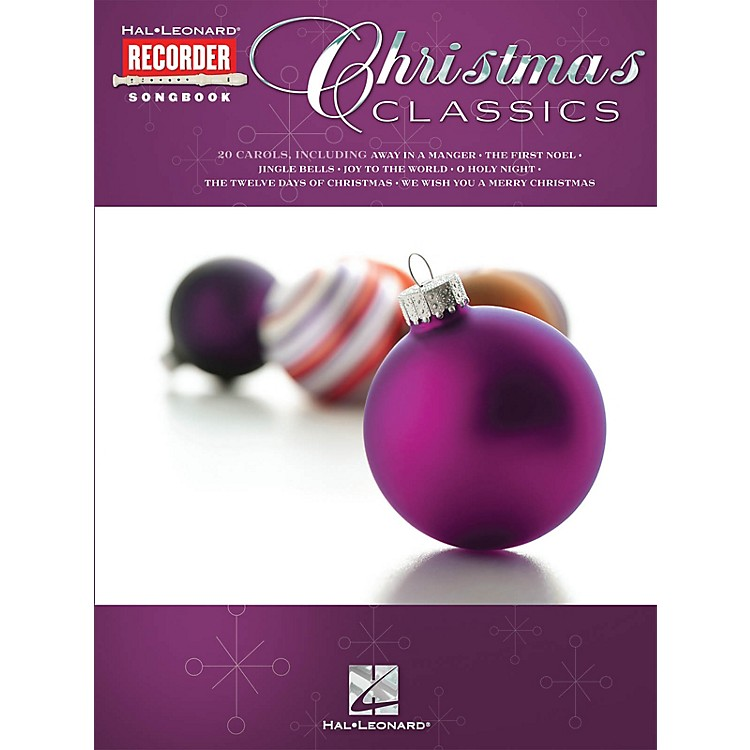 Hal LeonardChristmas Classics (Hal Leonard Recorder Songbook) Recorder Series Softcover