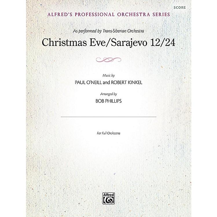 AlfredChristmas Eve/Sarajevo 12/24 Full Orchestra Grade Professional