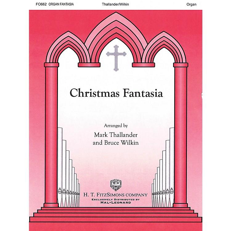 H.T. FitzSimons CompanyChristmas Fantasia Organ Solo