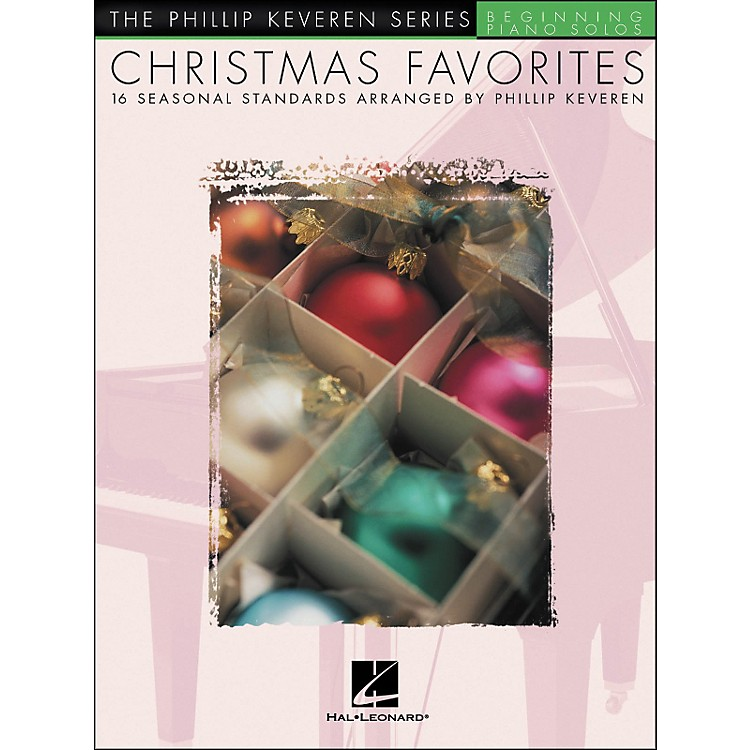 Hal Leonard Christmas Favorites - The Phillip Keveren Series Beginning Piano Solos
